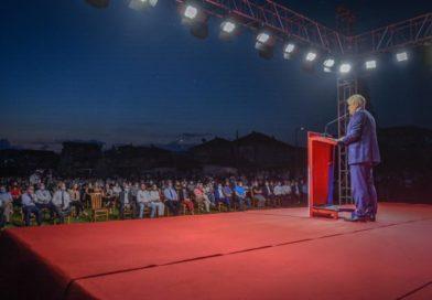 Ahmeti nga Ohri: Votoni numrin 9-të, për një kryeministër përfaqësues i denjë për gjithë qytetarët (VIDEO)