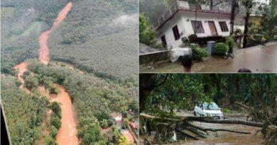 """Momenti kur """"zhduket"""" shtëpia: Të paktën 25 të vdekur nga rrëshqitjet e tokës dhe përmbytjet në Indi (Video)"""